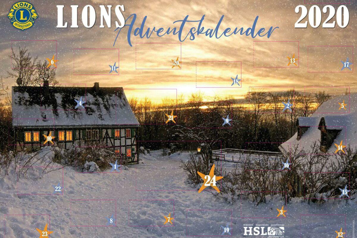 Das diesjährige Kalendermotiv zeigt eine Winterlandschaft an der Ginsburg, fotografiert von Karl-Heinz Althaus, Siegen title=